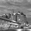 Downtown Columbus Bw5145 by Brian Gryphon