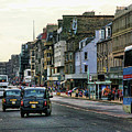 Downtown Edinburgh  by Chuck Kuhn