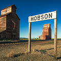 Downtown Hobson, Montana by Todd Klassy