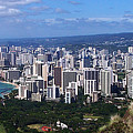 Downtown Honolulu  by Michael Lewis