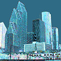 Downtown Houston by Fred Jinkins