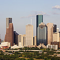 Downtown Houston Skyline by Jeremy Woodhouse