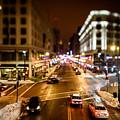 Downtown In The Itty-bitty City by Randy Scherkenbach