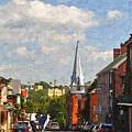 Downtown Lexington 3 by Kathy Jennings