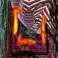 Downtown Light Warp by Tim Allen
