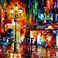 Downtown Lights by Leonid Afremov