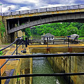 Downtown  Lockport -  Ny by Joseph Coulombe