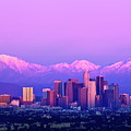 Downtown Los Angeles In Winter by Andrew Kennelly