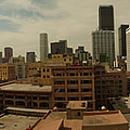 Downtown Los Angeles Panorama by Kareem Farooq
