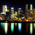 Downtown Los Angeles Reflection by Ariane Moshayedi