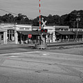 Downtown Maysville In Selective Color by Doug Camara