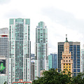 Downtown Miami by Art Block Collections