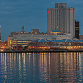 Downtown Norfolk Virginia Skyline by Jerry Gammon