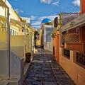Downtown Oia Santorini by Adam Rainoff