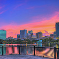 Downtown Orlando Florida  by Davids Digits
