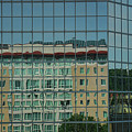 Downtown Reflections by Paulette B Wright