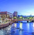 Downtown Reno Summer Twilight by Scott McGuire
