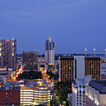 Downtown San Antonio At Night by Jeremy Woodhouse