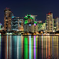 Downtown San Diego by Eddie Yerkish