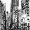 Downtown San Francisco by Masha Batkova