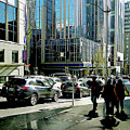 Downtown Seattle by Linda Carruth