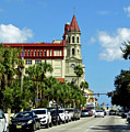 Downtown St Augustine by D Hackett