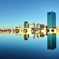 Downtown Toledo Ohio by Denis Tangney Jr