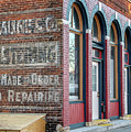 Downtown Winona Arched Doorways by Kari Yearous