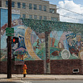 Downtown Winston Salem Series V by Suzanne Gaff