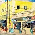Downtown Wrightsville Beach by Tom Harris