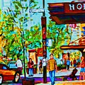 Downtowns Popping by Carole Spandau