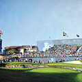 Dp World Tour Championship 2015 - Open Edition by Mark Robinson