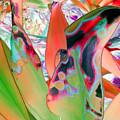Abstracted Leaf Patterns #1  Ref. Dp67  by Rheta-Mari Kotze