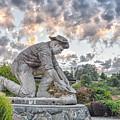 Dr. Kenneth Fox Sculpture Oldtown Auburn by Mark Chandler