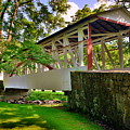 Dr. Knisley Covered Bridge by Lisa Wooten
