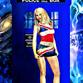Doctor Who - Tardis And Rose Tyler by Alicia Hollinger