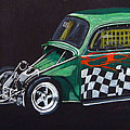 Drag Racing Vw by Richard Le Page