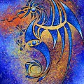 Dragissous V1 - Blue Dragon by Cersatti