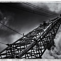 Dragline 553bw by Rudy Umans