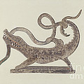 Dragon And Serpent Weather Vane by Betty Fuerst