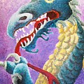 Dragon In Dots by Melissa Wiater Chaney