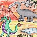 Dragon Land by Tanmay Singh