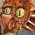 Dragon Sculpture by Suzy Ripley