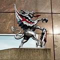 Dragon With Red Cross by Jacek Wojnarowski