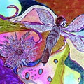 Dragonfly And Mum by Desiree Paquette