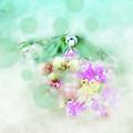 Dragonfly And Polka Dots by Anita Faye