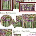 Dragonfly Bloomies Decorator Collection by Carol Cavalaris
