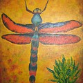 Dragonfly In Flight by Debbie Levene