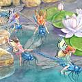 Dragonfly Races by Ann Gates Fiser