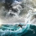 Dragon's Soul Surfer by Sandevil Sandhya